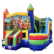 CoComelon Castle Combo With Side Slide