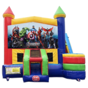 Avengers Castle Combo With Side Slide