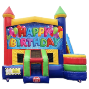 Happy Birthday Castle Combo With Side Slide