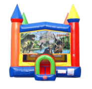 Dino Moonwalk Castle Bounce House