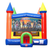 Fortnite Moonwalk Castle Bounce House