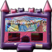 Disney Princess Castle Happy Birthday Bounce House
