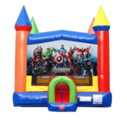 Avengers Moonwalk Castle Bounce House