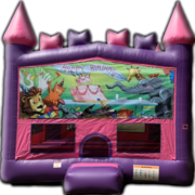Princess Castle Happy Birthday Bounce House