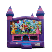 Super Mario Purple Castle Moonwalk