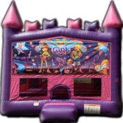Princess Castle It's A Girl Thing Bounce House