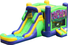 Princess Party Radical Combo Bounce House