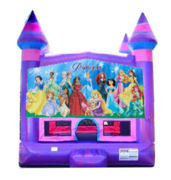 Princesses Purple Castle Moonwalk