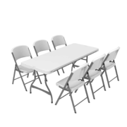 1 Table & 6 Chairs
