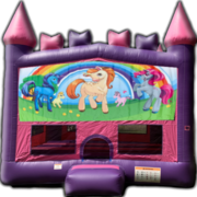 Unicorns Princess Bounce Castle