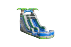 15 ft Blue Crush Water Slide