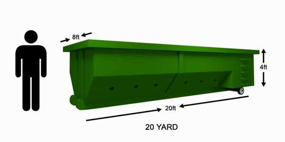 20 Yard Dumpster Rental Brandon Florida