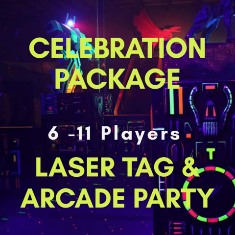 Celebration Laser Tag & Arcade  6-11 Players