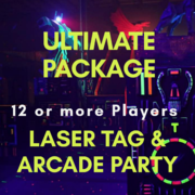 Ultimate Laser Tag & Arcade Party - 12 ++ Players