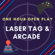 LASER TAG * ARCADE - 1 HOUR PLAY PASS