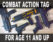 Combat Action Tag & Arcade (11 years & up)