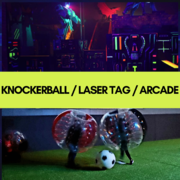 Knockerball / Laser Tag / Arcade  Up To 14 Players