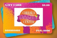 Chelsea Party Center 100.00 Gift Card