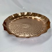 "Hammered Copper Collection: 17"" Tray"