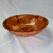 "Bowl: Salad - Wood Look 12""D"