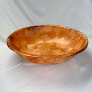 "Bowl: Salad - Wood Look 20""D"