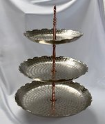 Hammered Copper Collection: 3-Tier Display
