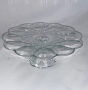 "Cake Stand: Eclectic Glass 12""Dx6""H"