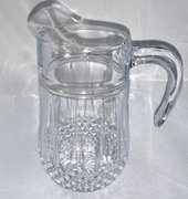 Water Pitcher, Crystal