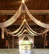 Ceiling Draping - Rafter Peaks (20 yard run)
