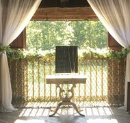 "Faux Boxwood - Willow Lattice Screen 39"" x 78"""