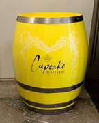 Cupcake Vineyards Barrel