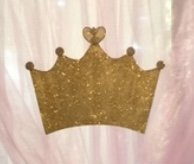 Sign: Crown Icon, Gold