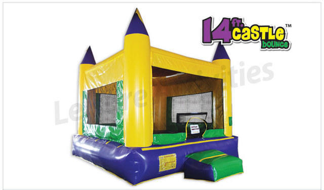 14FT Castle Bounce House