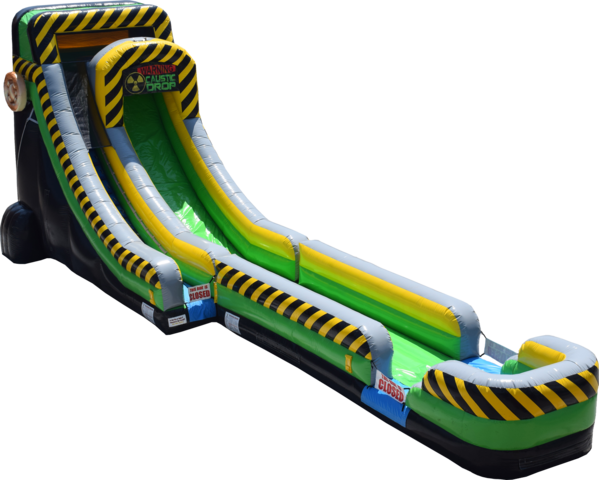 20FT Caustic Drop Slide Water Slide