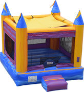 14Ft Castle Bounce House Marble