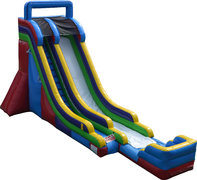 The Monsoon 22FT SIngle Lane Water Slide