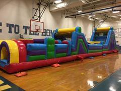 75FT Extreme Obstacle Course