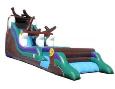 21Ft Log Mountain Water Slide