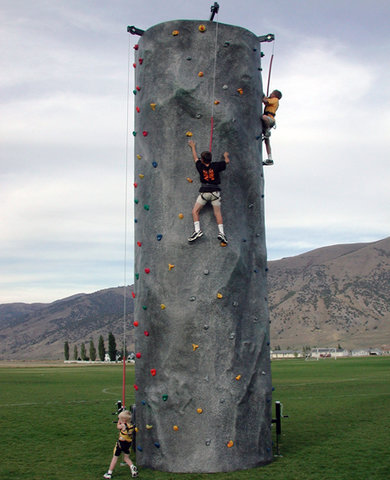 Portable 24' Rock Wall