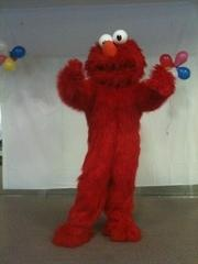 Red Funny Monster Costume