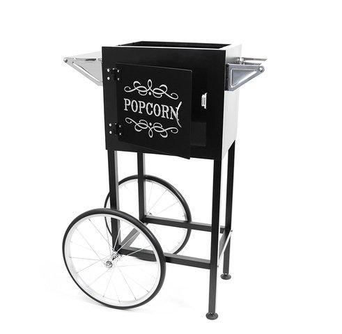 Popcorn Machine Cart Black