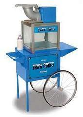 Snow Cone Machine with Cart 1