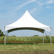 20 x 20 High Peak Frame Party Tent - White