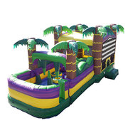 30 ft. Palm Beach Obstacle Bouncer
