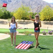 Corn Hole Game (American Flag)