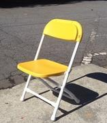 Toddler Folding Chairs Yellow