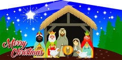 Merry Christmas Nativity