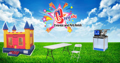 Bounce House, Concession, Tables and Chairs Package