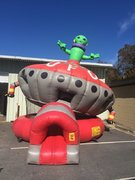 Alien UFO Tilt Bouncer
