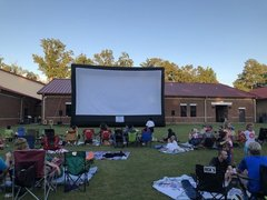 Outdoor Movie for up to 250 people